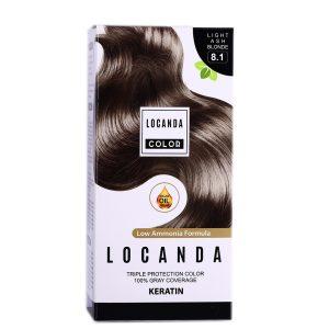 کيت رنگ مو شماره 8.1 لوکاندا 50ml
