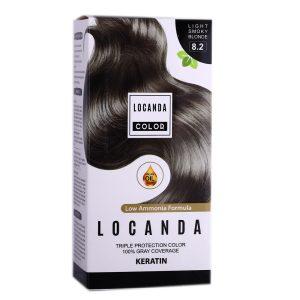 کيت رنگ مو شماره 8.2 لوکاندا 50ml