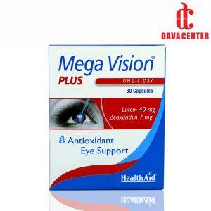 کپسول تقویت و سلامت چشم مگاویژن پلاس هلث اید 30 عددی