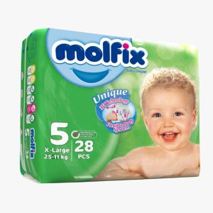 پوشک مخصوص کودکان مولفیکس 11 تا 25 کیلوگرم 28 عددی