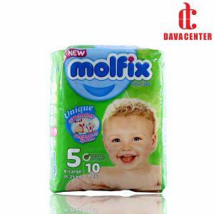 پوشک مخصوص کودکان مولفیکس 11 تا 25 کیلوگرم 10 عددی