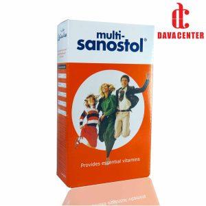 شربت مولتی ویتامین سانستول 200ml