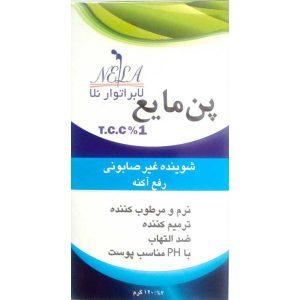پن مایع غیر صابونی آنتی آکنه تی سی سی 1% نلا 120ml