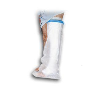 محافظ باند گچی و پانسمان پا تا بالای ران پاس باند مدل G