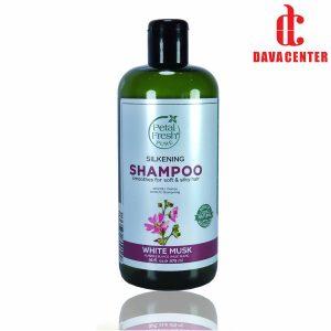 شامپو تقویت کننده و ضد ریزش موی چرب پتال فرش 475ml