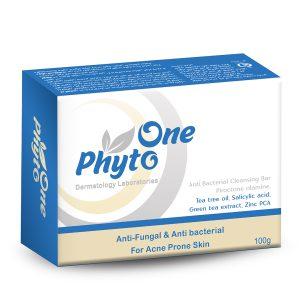 صابون آنتی باکتریال و ضد جوش فیتو وان 100gr