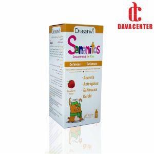 شربت تقویت کننده سیستم ایمنی توت فرنگی سانانیتوس دراسانوی 130ml