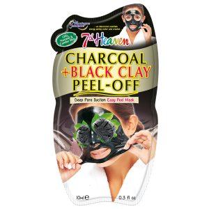 ماسک لایه بردار ذغال و خاک رس سياه سون هون 10ml