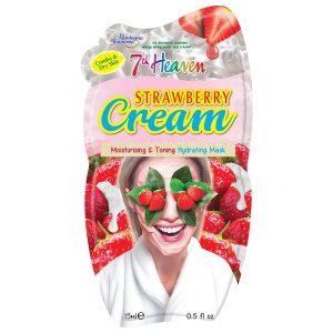 ماسک کرمی توت فرنگی پوست خشک سون هون 15ml