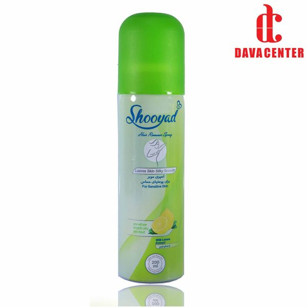 اسپری مو بر متوسط شویاد 150ml سبز