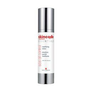 لوسیون مات کننده پوست چرب و مستعد جوش S.O.S oil control اسکین کد 50ml