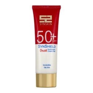 کرم ژل ضد آفتاب سان شیلد فاقد چربی ساین اسکین SPF50+