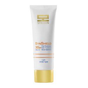 فلویید ضد آفتاب روشن انواع پوست ساین شیلد ساین اسکین SPF30