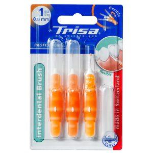مسواک بین دندانی پروفشینال ایزو نارنجی تریزا 0.8mm