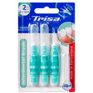 مسواک بین دندانی پروفشینال ایزو سبز تریزا 0.9mm