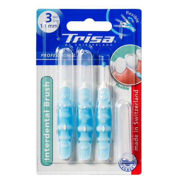 مسواک بین دندانی پروفشینال ایزو آبی تریزا 1.1mm