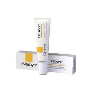 بالم ترمیم کننده ویتامین C سیکاویت ویتالیر 30ml