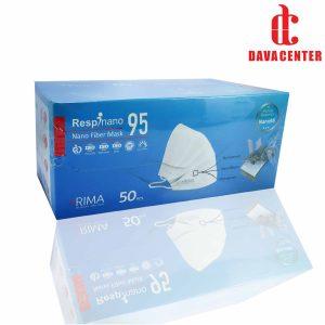 ماسک تنفسی سه لایه نانو 95 ریما 50 عددی