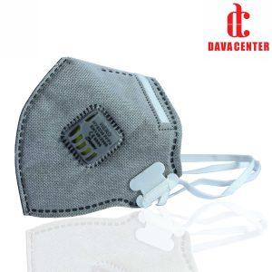 ماسک فیلتردار کربن اکتیو Hero N95/FFP3