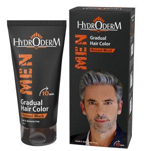کرم رنگ موی تدریجی هیدرودرم آقایان 150ml
