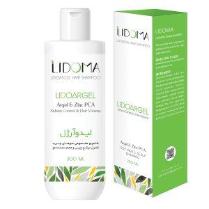 شامپو کنترل چربی و حجم دهنده موهای چرب لیدوآرژل لیدوما 300ml