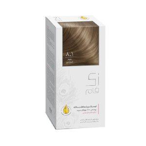 کیت رنگ مو بلوند ابریشمی شماره 8.1 زی فام 50ml