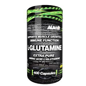 کپسول مکمل ال گلوتامین آلامو 400 عددی