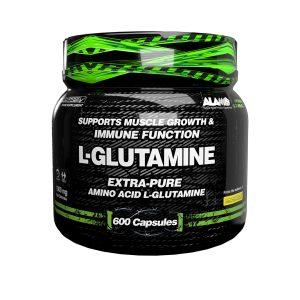 کپسول مکمل ال گلوتامین آلامو 600 عددی