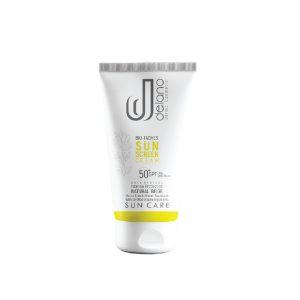 کرم ضد آفتاب و ضد لک بژ طبیعی انواع پوست بایوتچ دلانو SPF50+