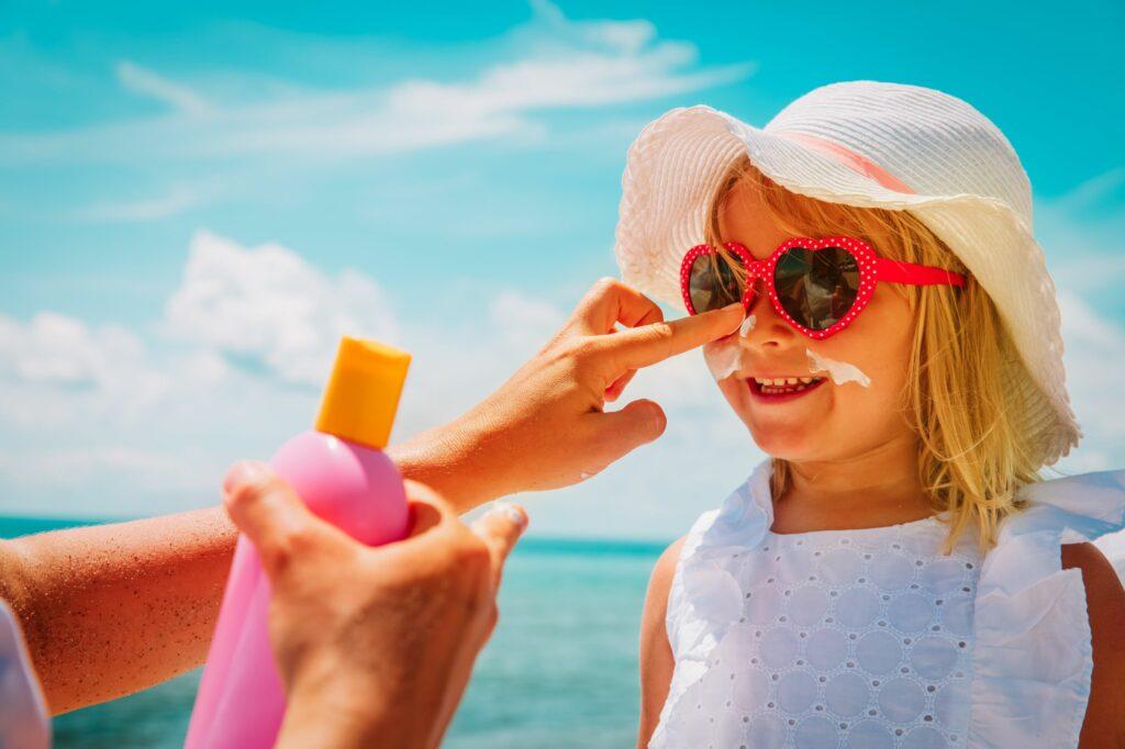 محصولات ویژه ی کودکان و افراد دارای پوست حساس
