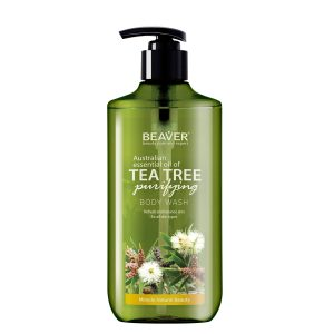 شامپو بدن تنظیم کننده چربی پوست درخت چای بیور 400ml
