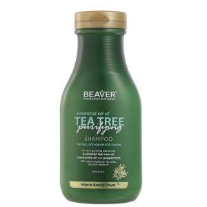 شامپو ضدشوره و ضد قارچ حاوی روغن درخت چای بیور 350ml