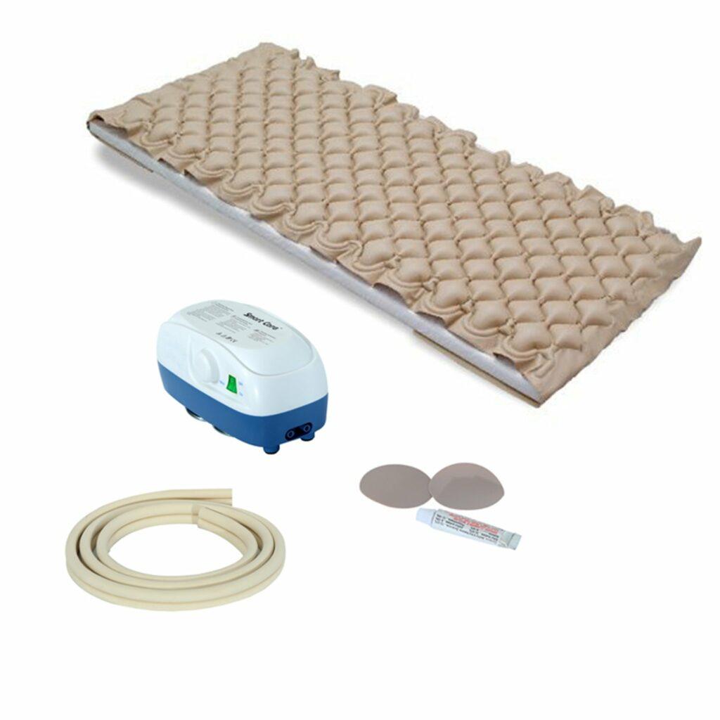 کنترل زخم بستر با تشک مواج
