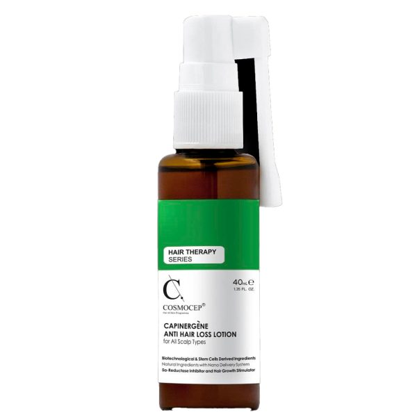 محلول تقویت کننده و ضد ریزش مو کازموسپ 40ml
