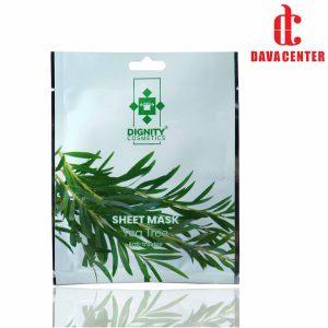ماسک ورقه ای کنترل چربی پوست چای سبز دیگنیتی