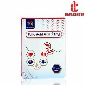 قرص فولیک اسید 1mg و B12 مولتی نرمال 60 عددی