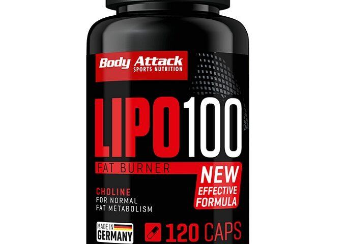 نحوه عملکرد مکمل چربی سوز Lipo 100 Body attack چگونه است؟