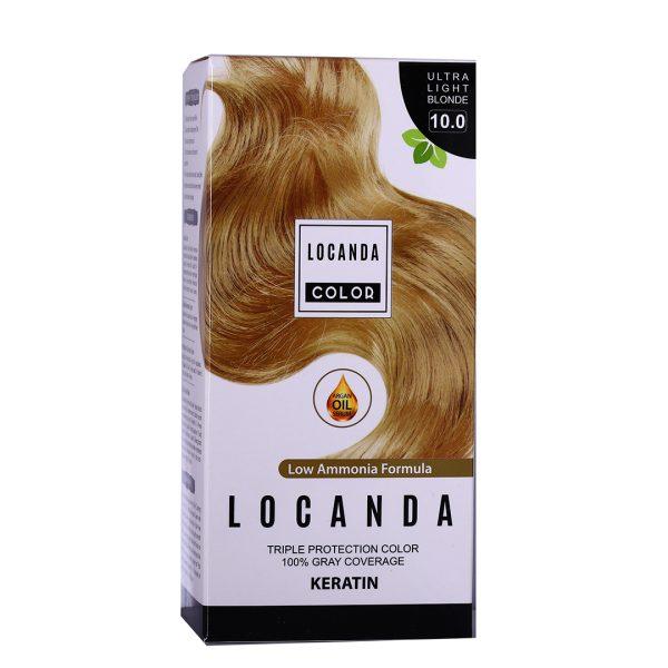 کيت رنگ مو شماره 10.0 لوکاندا 50ml