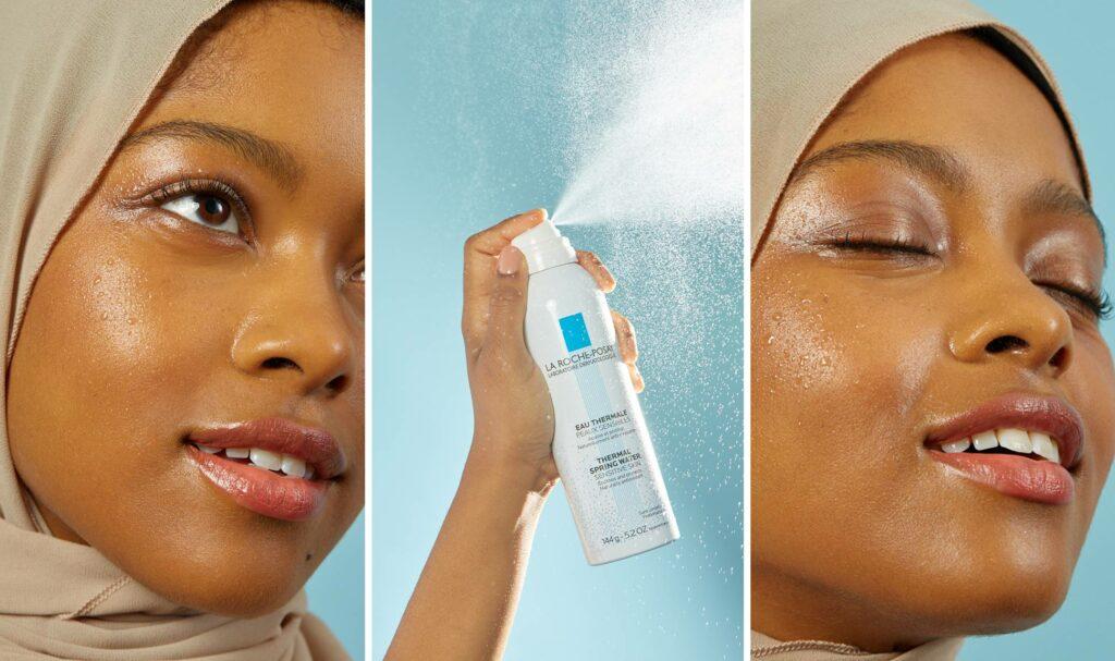 اسپری آب معدنی معجزه ای برای بالا بردن دوام آرایش
