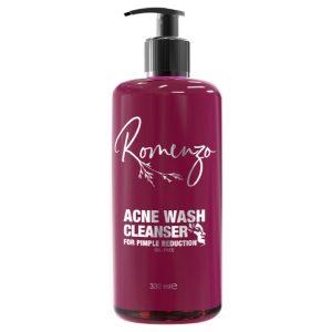 شوینده گیاهی صورت ضد آکنه Acne wash رومنزو 330ml