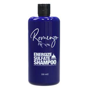 شامپو تغذیه کننده عمیق موهای هایلایت شده energize فاقد سولفات رومنزو 330ml