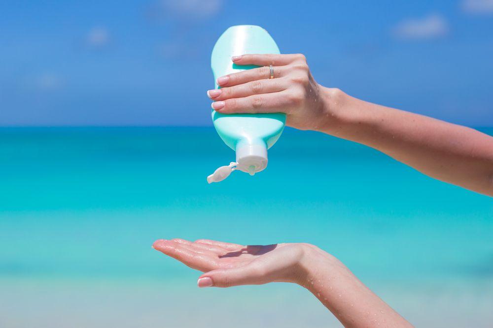 spf مناسب برای کرم ضد آفتاب