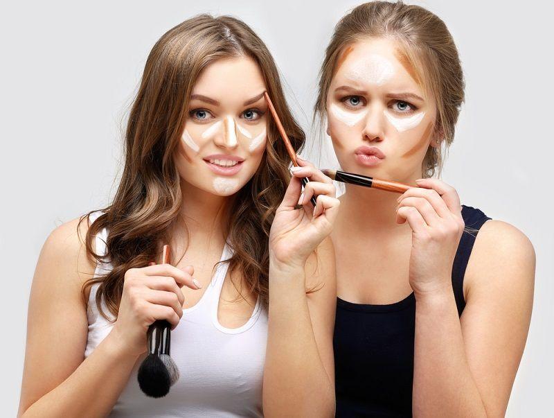 انتخاب محصول و براش مناسب برای کانتور کردن صورت