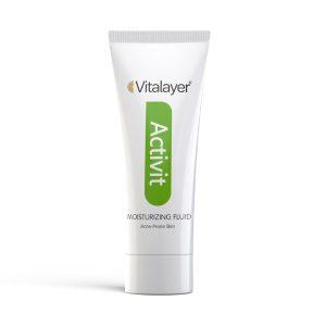 فلوئید مرطوب کننده پوست چرب وایت ویت ویتالیر 40ml