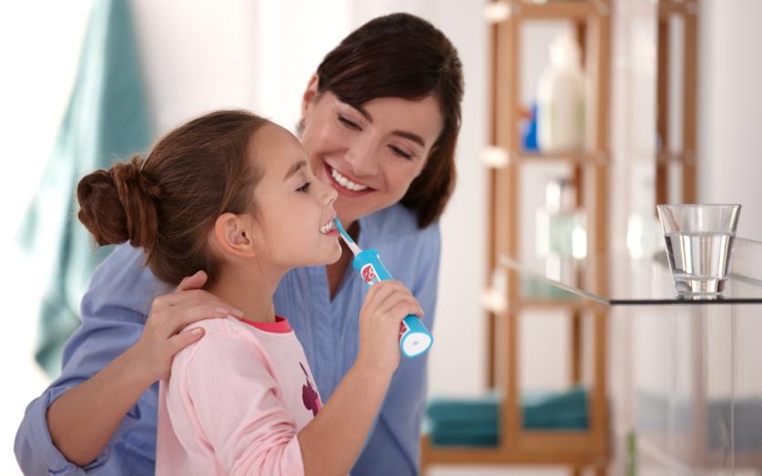 فواید مسواک برقی برای کودکان