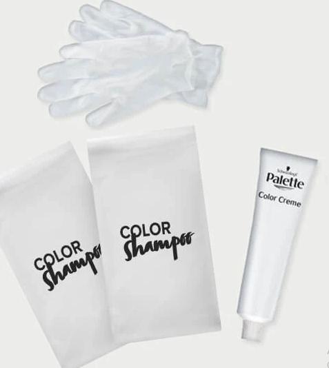 روش استفاده از شامپو رنگ مو