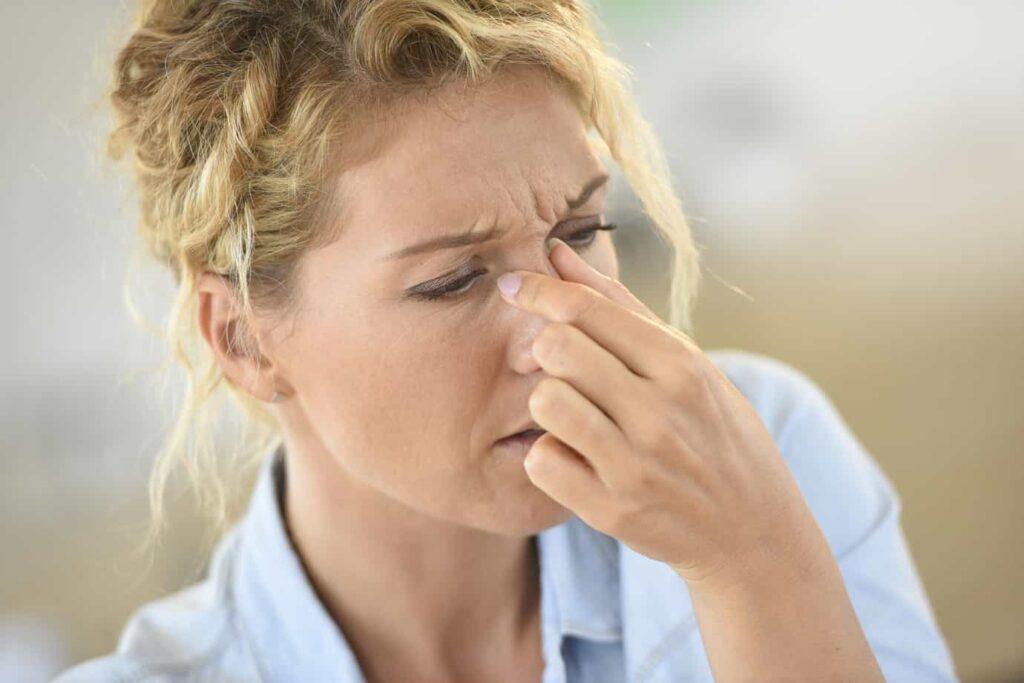 علائم و نشانههای سینوزیت