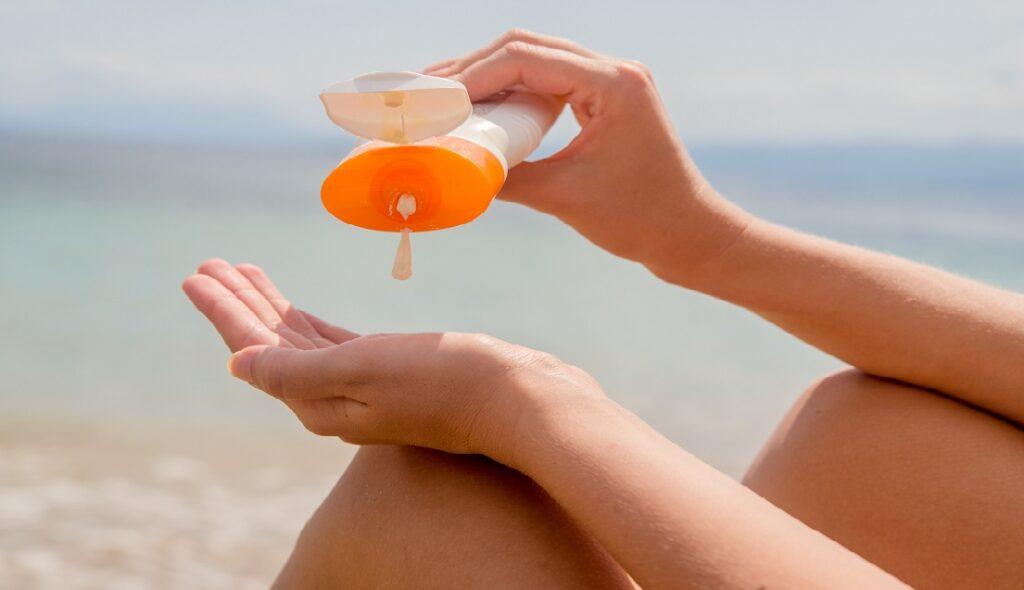 میزان مصرف ضد آفتاب